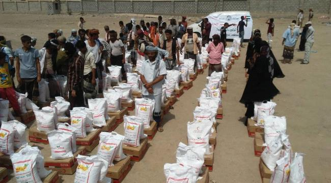 ERC distributes food aid in Lahj ...