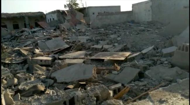 WATCH: Houses destroyed by Houthi missile attack in Hodeidah ...
