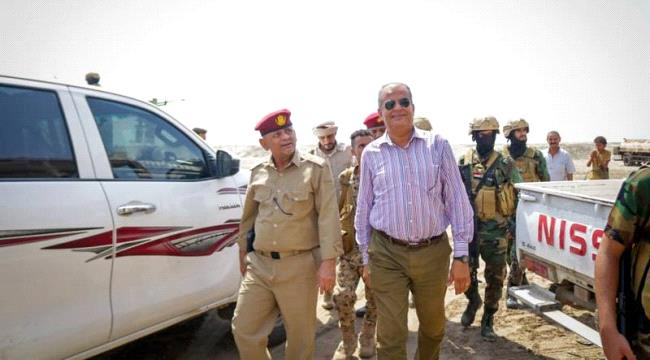 Senior STC Officials Inspect the Southern Forces in Abyan